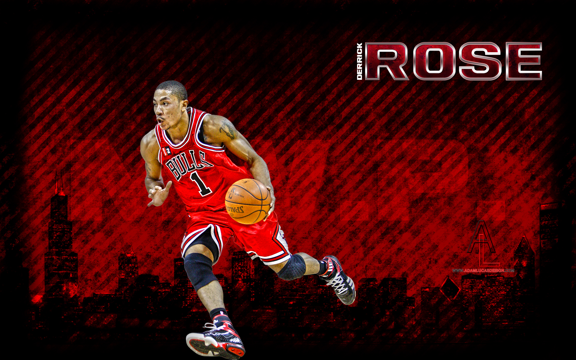Nba wallpapers adam lucas designs - Derrick rose cavs wallpaper ...