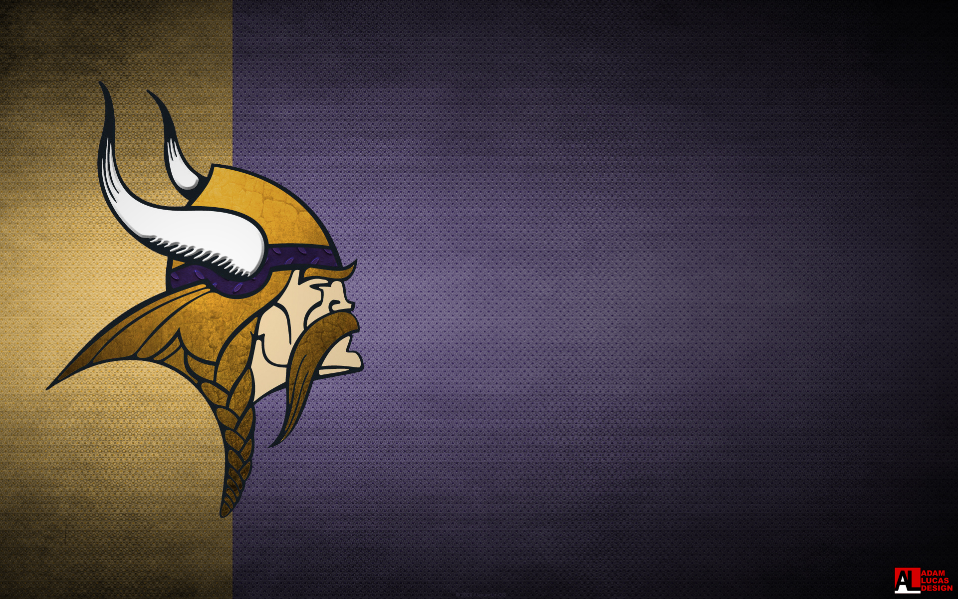 the desktop wallpapers are first with the mobile wallpaper at the endVikings Logo Wallpaper